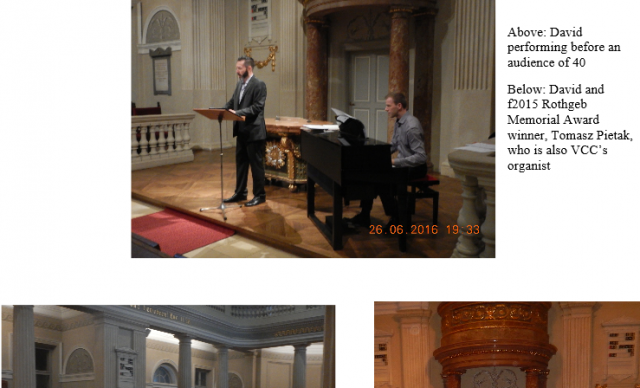 Corcoran Recital Highlights